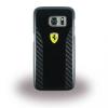 Ferrari Samsung Galaxy S7 Daytona Real Carbon Hard hátlap, tok, fekete