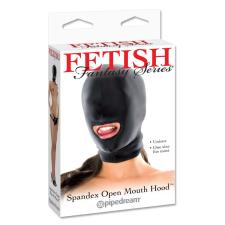 Fetish Fantasy Series Spandex Open Mouth Hood maszk