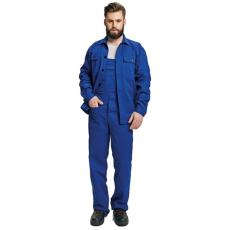FF BE-01-005 set (kabát+mellesnadrág) kék 52