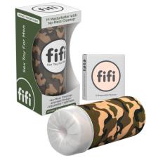 FIFI - maszturbátor mandzsettával (terepmintás) egyéb erotikus kiegészítők férfiaknak