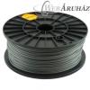 Filament PLA tekercs, 3mm, Ezüst (1kg)