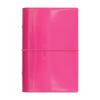 """FILOFAX Kalendárium, gyűrűs, betétlapokkal, A5,  """"Domino Lakk"""", pink"""
