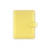 """FILOFAX """"Patent"""" pocket méretű gyűrűskalendárium betétlapokkal, sárga"""