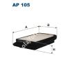 Filtron AP105 Filtron levegőszűrő
