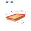 Filtron AP139 Filtron levegőszűrő