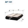 Filtron AP141 Filtron levegőszűrő