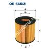 Filtron OE665/2 Filron olajszűrő