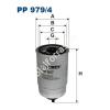 Filtron PP979/4 Filtron üzemanyagszűrő