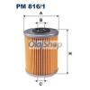 Filtron Üzemanyagszűrő (PM 816/1)