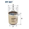 Filtron Üzemanyagszűrő (PP 967)