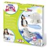 """FIMO Gyurma készlet, 4x42 g, égethető,  """"Kids Form & Play"""", sarkvidék"""