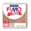 FIMO Kids Gyurma, 42 g, égetheto, világosbarna