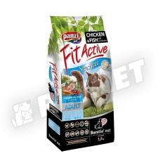 FitActive Adult Cat Sensitive Chicken Fish 1,5kg macskaeledel