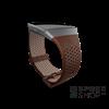 Fitbit Ionic Bőr szíj, Large, Cognac