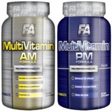 Fitness Authority Multivitamin AM-PM Formula vitamin