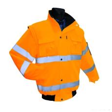 Flash SHORT Jól láthatósági Kabát (Flash vízálló Kabát II:kat)