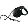 Flexi Classic S szalagpóráz különböző színben, 5 m Fekete