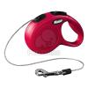 Flexi Classic XS kötélpóráz különböző színben, 3 m Piros