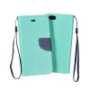Flexi color book tok - Huawei Ascend Y635 - mint - sötétkék