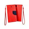 Flexi color book tok - Huawei Honor V9, Honor 8 Pro - piros - sötétkék
