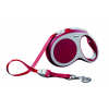 Flexi VARIO Automata szalagos póráz - szín: piros L 8m - 50kg-ig