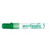 "FLEXOFFICE ""WB02"" 2,5 mm kúpos zöld táblamarker"