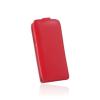 Flip szilikon belső Flip tok szilikon belsővel, Huawei Y6 II, piros