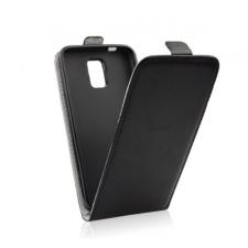 Flip szilikon belső Flip tok szilikon belsővel, Samsung J500 Galaxy J5, fekete tok és táska