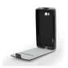 Flip szilikon belső Flip tok szilikon belsővel, Sony Xperia L2, fekete