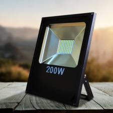 Flood Light LED reflektor, 9000 lumen, IP66, 200 W kültéri világítás