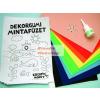 Folia Dekorgumi EXTRA csomag - A4-es méretű színes dekorgumival, ragasztó és kiegészítők -22 db-os készlet
