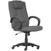 """. Főnöki szék, szövetborítás, fekete lábkereszt, """"MODUS T"""", szürke"""