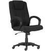 """. Főnöki szék, szövetborítás, fekete lábkereszt, """"MODUS T"""", fekete"""