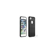 Forcell Carbon hátlap tok Apple iPhone 5/5S/SE, fekete tok és táska