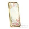Forcell Diamond hátlap tok Apple iPhone 5/5S/SE, arany