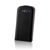 Forever Leather case DeLuxe Nokia 530 fekete