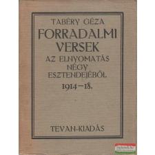 Forradalmi versek irodalom