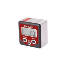Fortum digitális szögmérő, mérési tartomány: ±180° (0°-360°), pontoság: ±0,1°, felbontás: 0,1° mérőszerszám