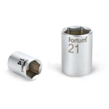 "Fortum dugófej, 1/2"", 19mm, 61CrV5, mattkróm,  38mm hosszú (4700419) dugókulcs"