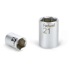 "Fortum Dugófej, 1/2"", 27mm, 61CrV5, mattkróm; 42mm hosszú (Dugófej)"