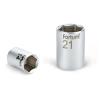 "Fortum Dugófej, 1/4"", 7mm, 61CrV5, mattkróm, 25mm hosszú (Dugófej)"