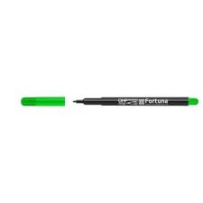 Fortuna Alkoholos marker FORTUNA OHP M zöld filctoll, marker