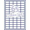 Fortuna ETIKETT FORTUNA 38X21, 2 UNIVERZÁLIS