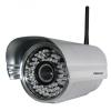 Foscam FI8905W WiFi IP Kamera, 0,3 megapixeles, 30 fokos látószög (ezüst)