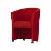Fotel, piros, ELIZA