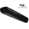 FOX OUTDOOR Fox mumia economic hálózsák szürkés fekete +/ - 0°C