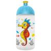 """FREEWATER Kulacs, higiénikus műanyagból, 0,5L,  """"Csikóhal"""", átlátszó"""
