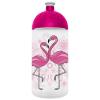 """FREEWATER Kulacs, higiénikus műanyagból, 0,5L, , """"Flamingó"""", áttetsző"""