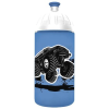 "FREEWATER Kulacs, higiénikus műanyagból, 0,5L,  ""Monster truck"", kék"
