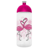 """FREEWATER Kulacs, higiénikus műanyagból, 0,7L, , """"Flamingó"""" áttetsző"""